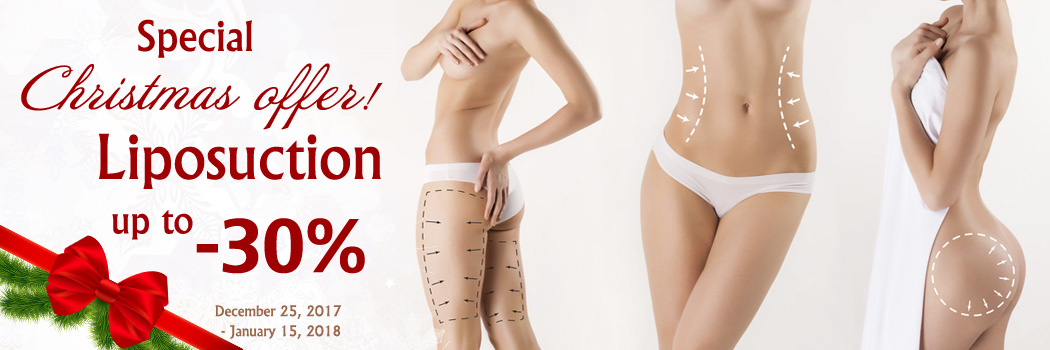 Liposuction in Kiev, Ukraine, Christmas discounts on lipo